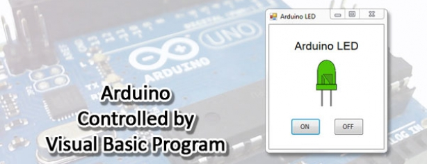 Arduino Controlled By Visual Basic Program