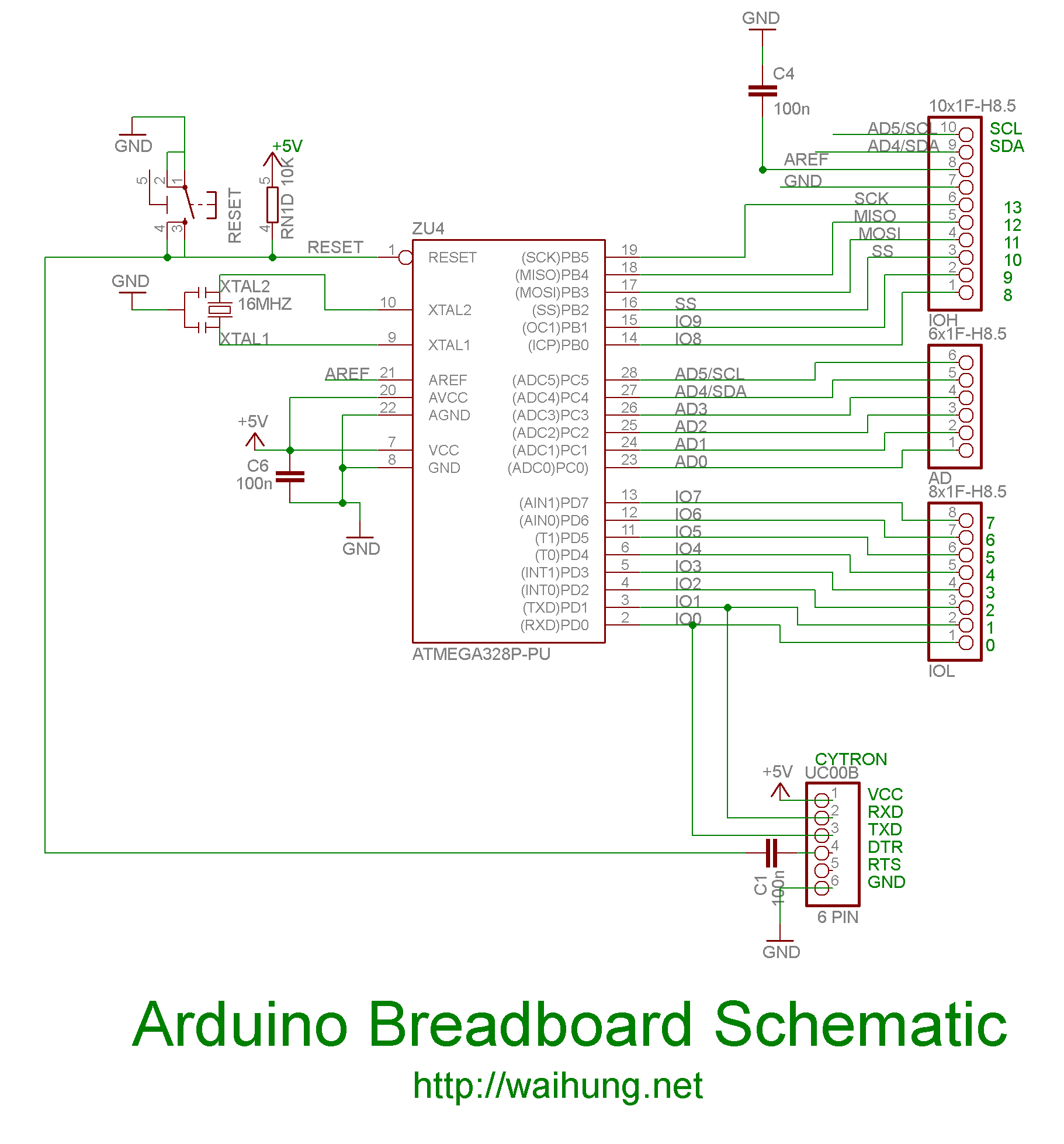 Making Your Own Arduino Part 2 (Arduino on Breadboard)